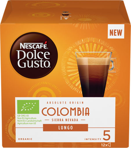 Изображение Капсулы NESCAFE DOLCE GUSTO Lungo Colombia к/уп